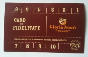 card de fidelitate gloria jeans