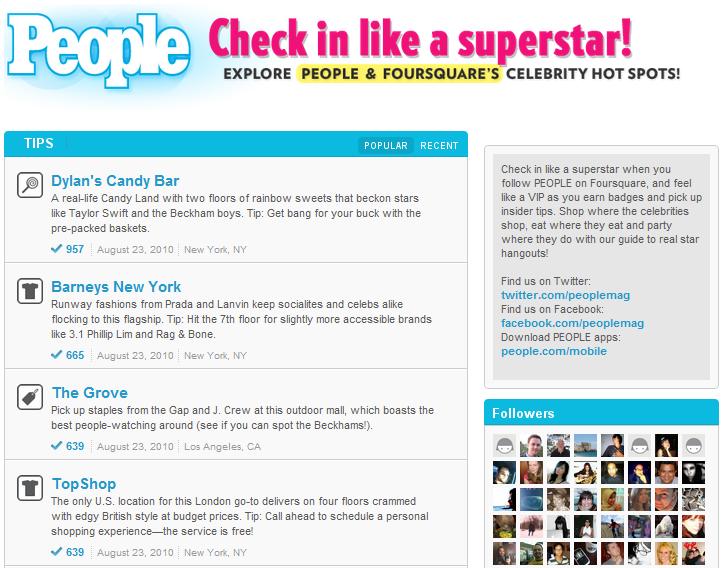 foursquare-page