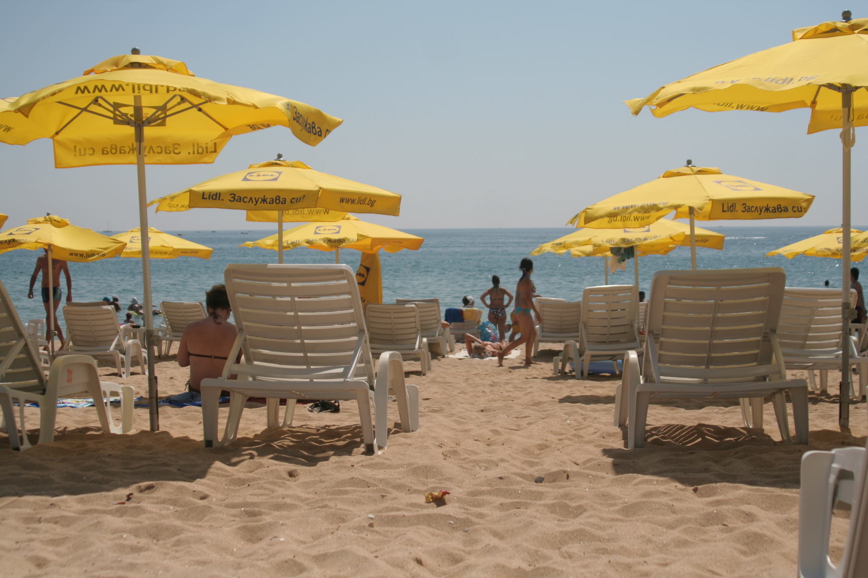 plaja Nisipurile de Aur Bulgaria 2011
