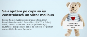 IKEA - Campania Jucariilor de Plus