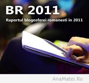 Raportul Blogosferei Romanesti in 2011