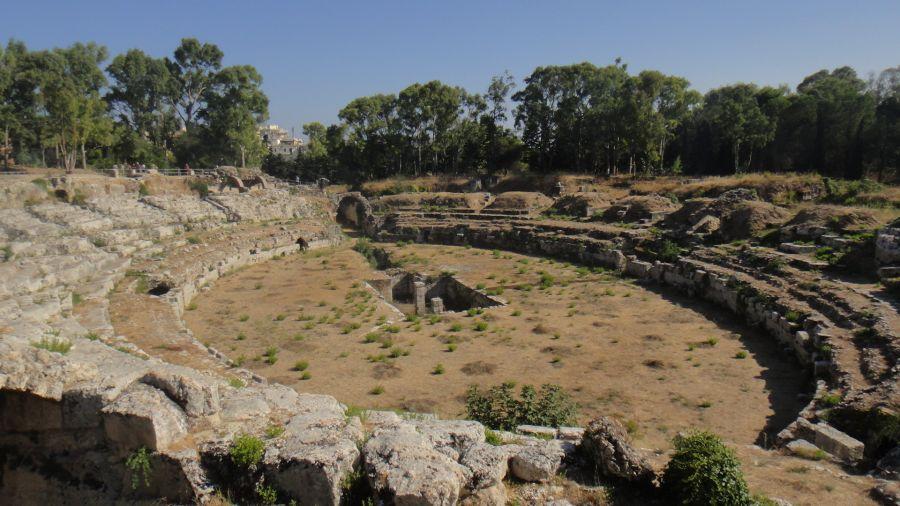 Amfiteatrul Roman de la Syracuse