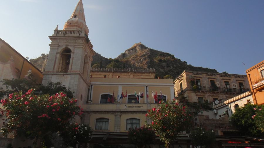 Taormina old city