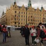 prin Nemeste Republika - Praga