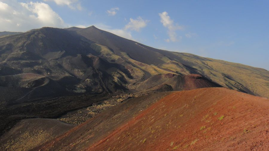 anatomie crater vechi Etna