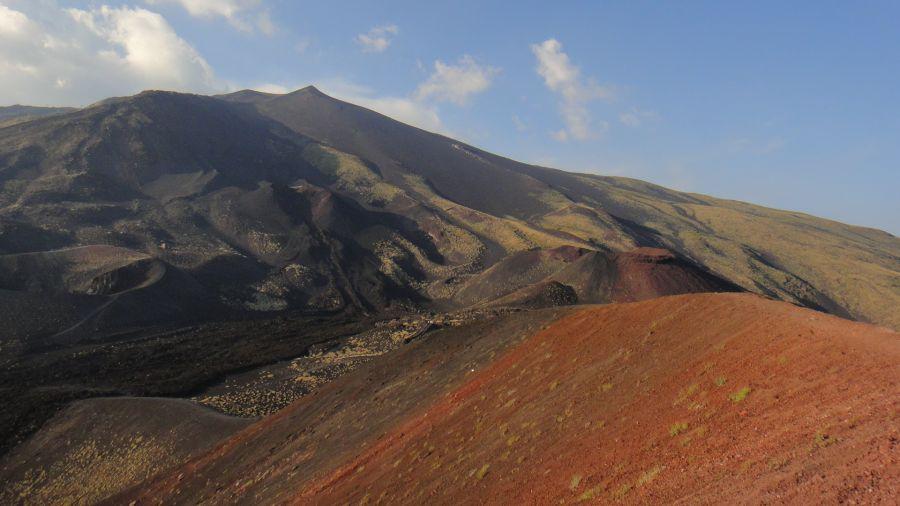 anatomie crater vechi Etna