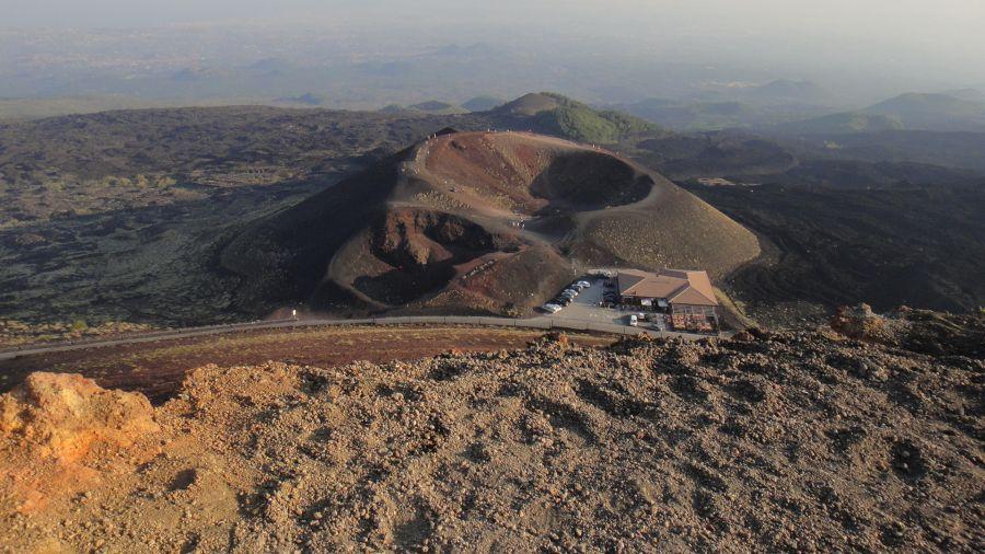 crater Etna