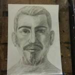 4. portret in creion al barbatului ideal