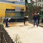 joc-popice-pe-nisip-in-Barcelona