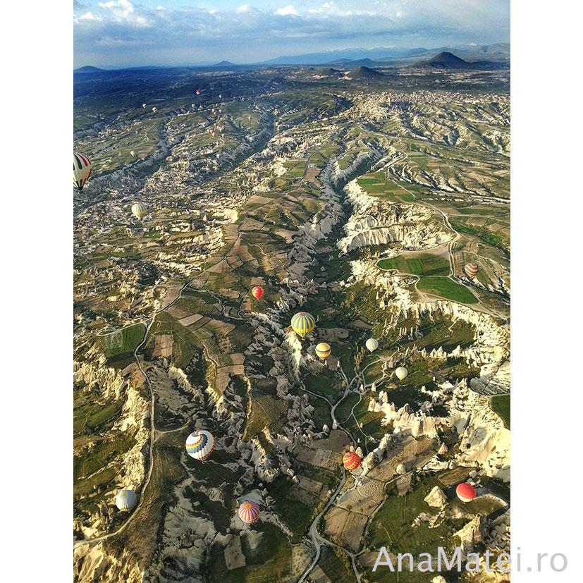 vedere zbor balon Cappadocia