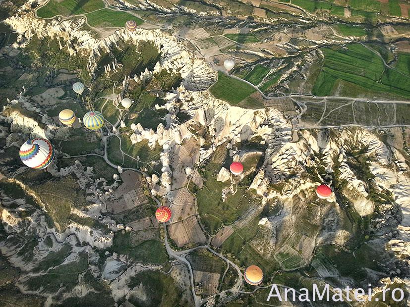 vedere din Balon Cappadocia