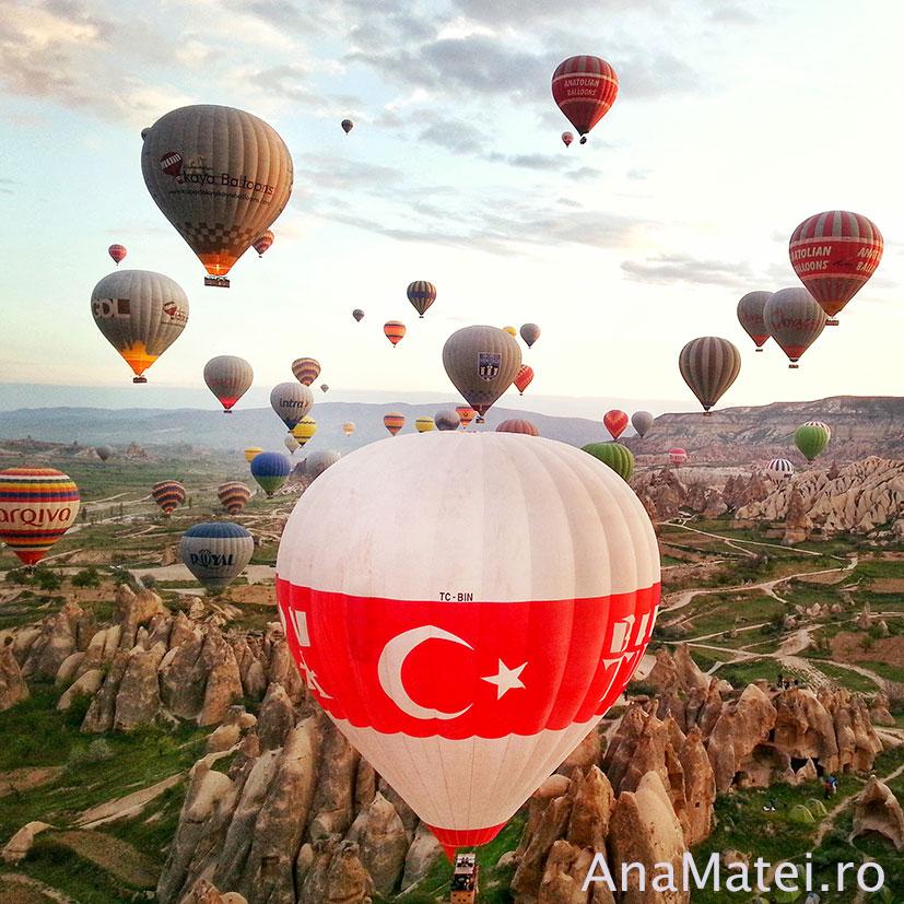 zbor balon Cappadocia