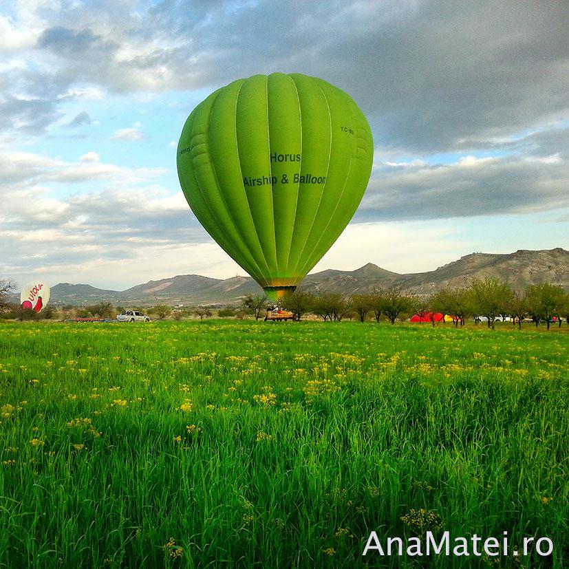 zbor cu balonul in Cappadocia