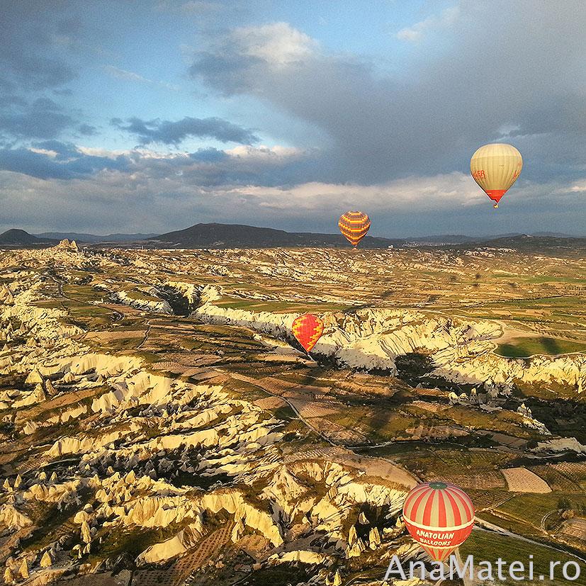 zbor in balon Cappadocia