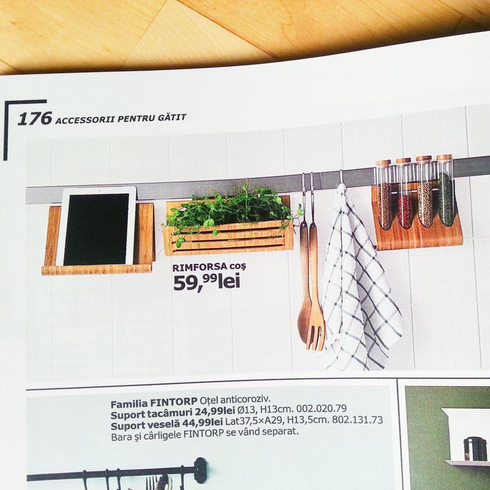 suport ipad bucatarie - IKEA