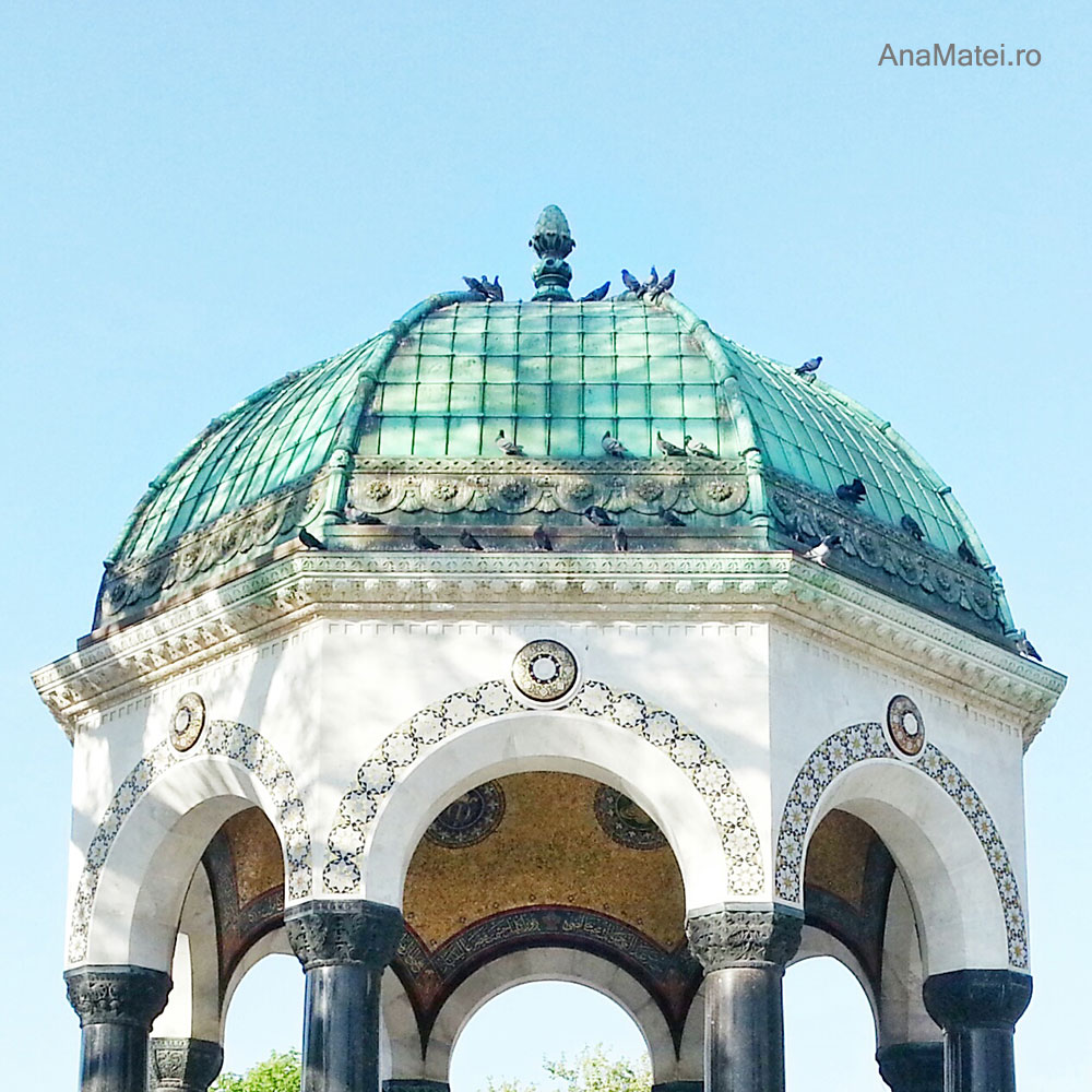 obiective turistice Istanbul - German Fountain