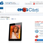 iPad 2 32GB 3G la eMag