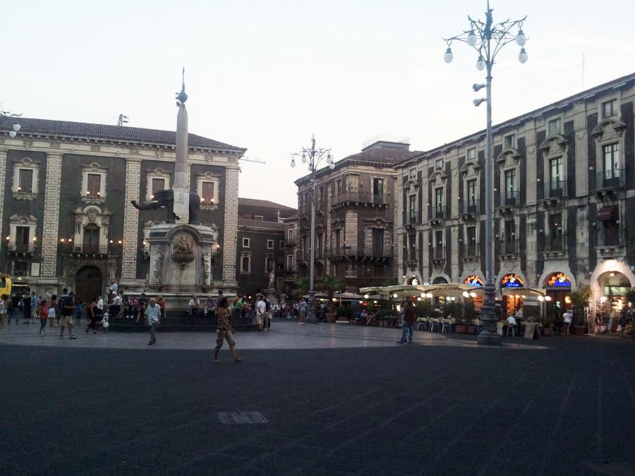 Catania - fantana elefantului