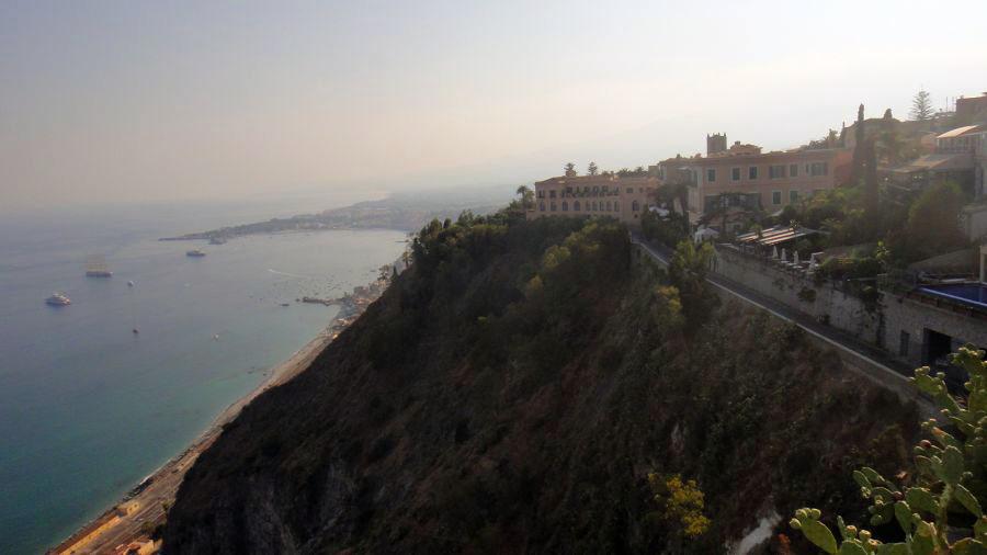 panorama coasta Taormina