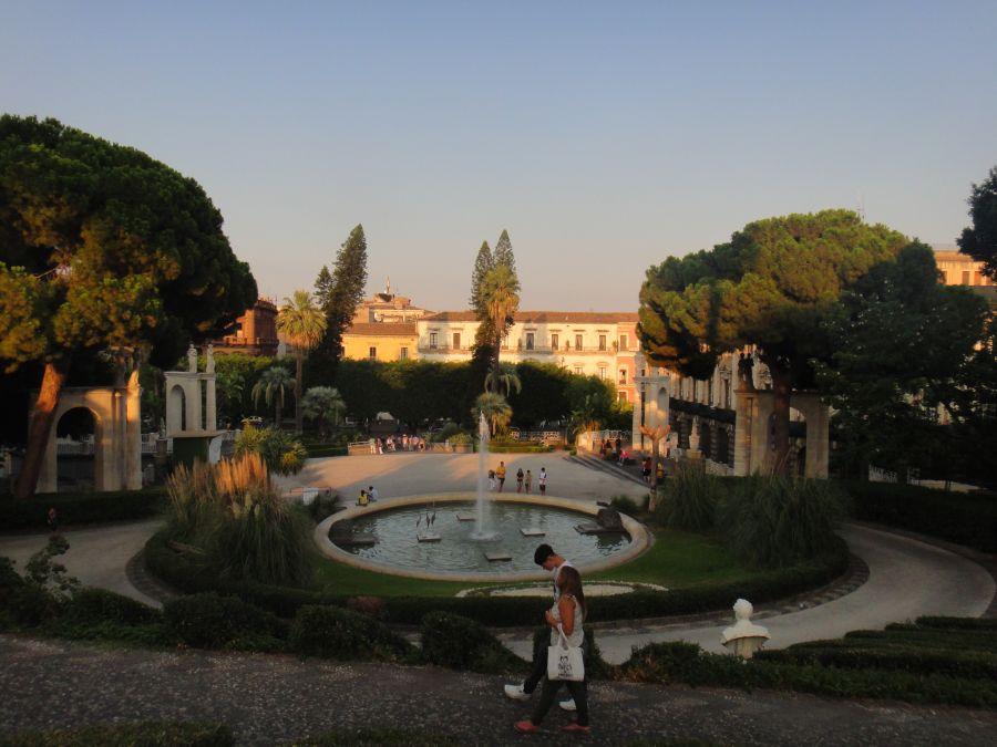 parc in Catania - Bellini