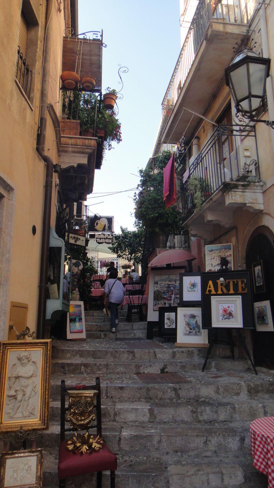 stradute Taormina